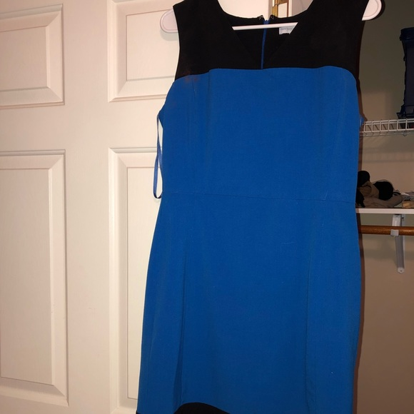 New York & Company Dresses & Skirts - Royal blue/Blk New York and Co size 10 dress